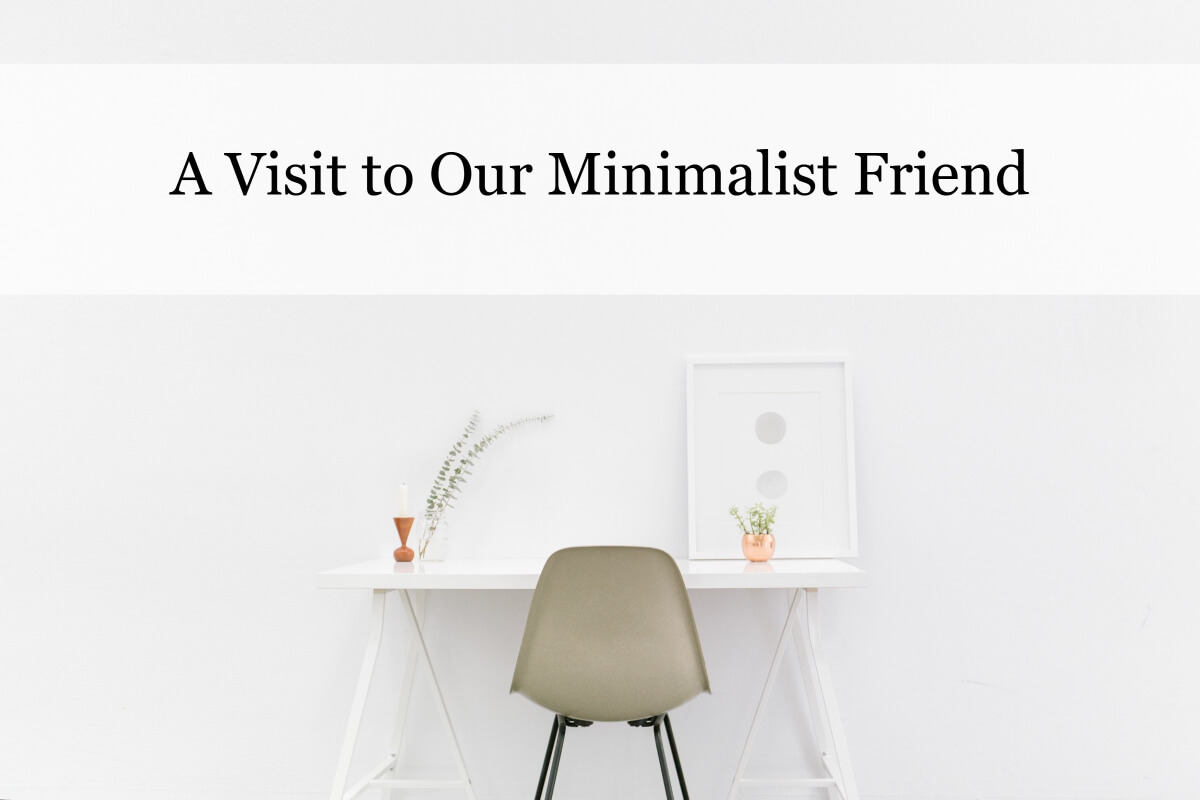 Our Minimalist Friend